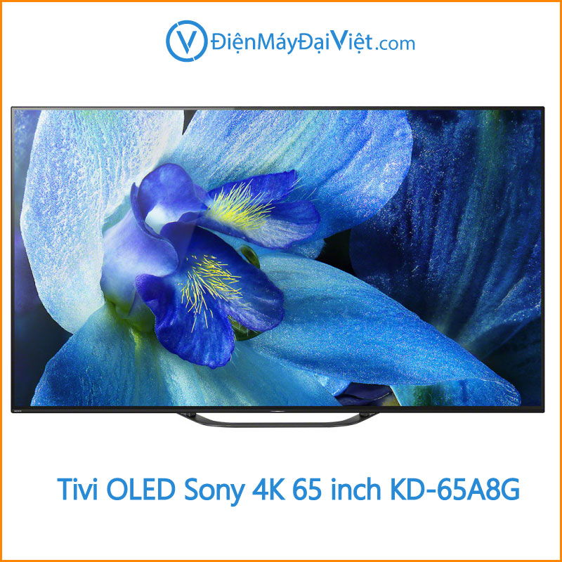 Android Tivi OLED Sony 4K 65 inch KD 65A8G Dien may dai viet 1