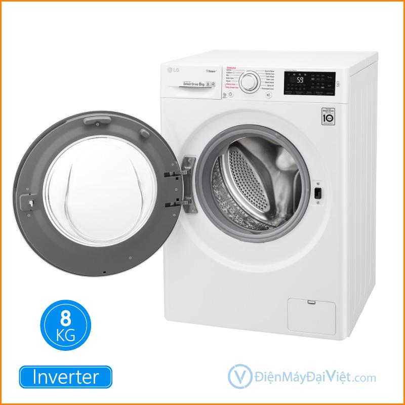 Máy giặt LG Inverter 8 kg FC1408S4W2 Dien May Dai Viet 1