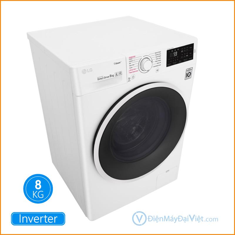 Máy giặt LG Inverter 8 kg FC1408S4W2 Dien May Dai Viet