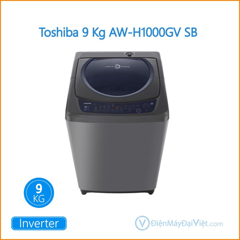 Máy giặt Toshiba 9 Kg AW H1000GV SB Dien May Dai Viet 1