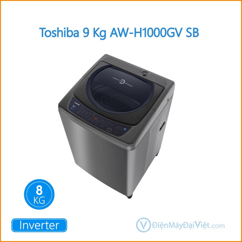 Máy giặt Toshiba 9 Kg AW H1000GV SB Dien May Dai Viet 2
