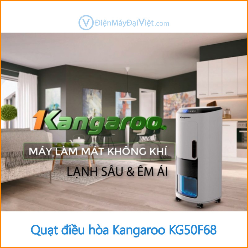 Quạt điều hòa Kangaroo KG50F68 Dien May Dai Viet 1