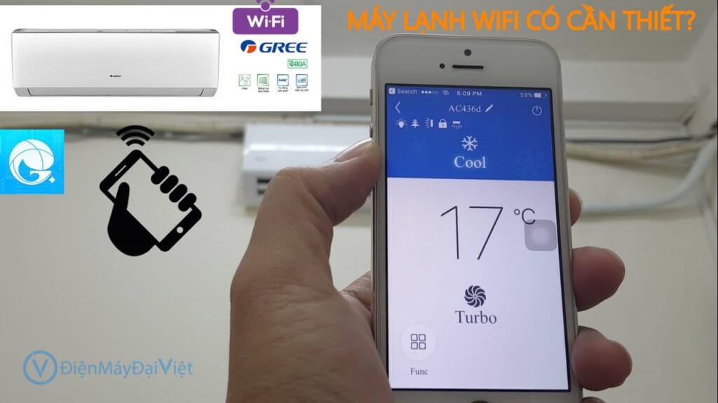 Máy lạnh có cần thiết phải có wifi - Điện Máy Đại Việt