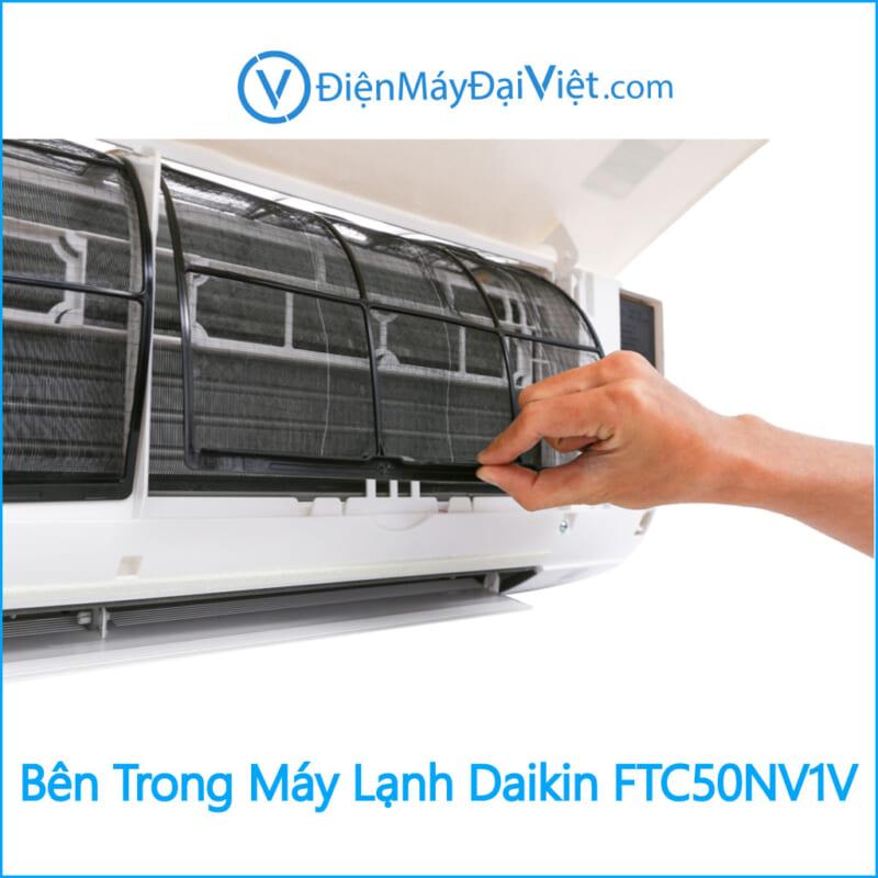 Bên Trong Máy Lạnh Daikin FTC50NV1V Điện Máy Đại Việt