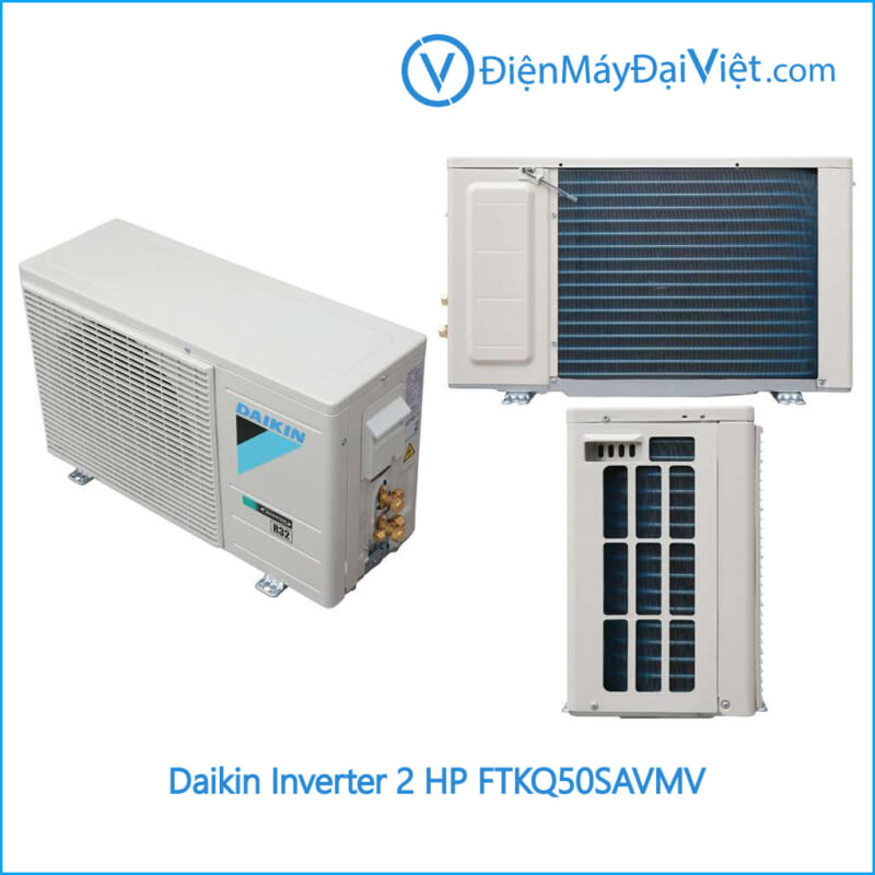 Cục nóng Máy lạnh Daikin Inverter 2 HP FTKQ50SAVMV Điện Máy Đại Việt