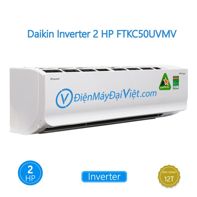 Máy Lạnh Daikin Inverter 2 HP FTKC50UVMV