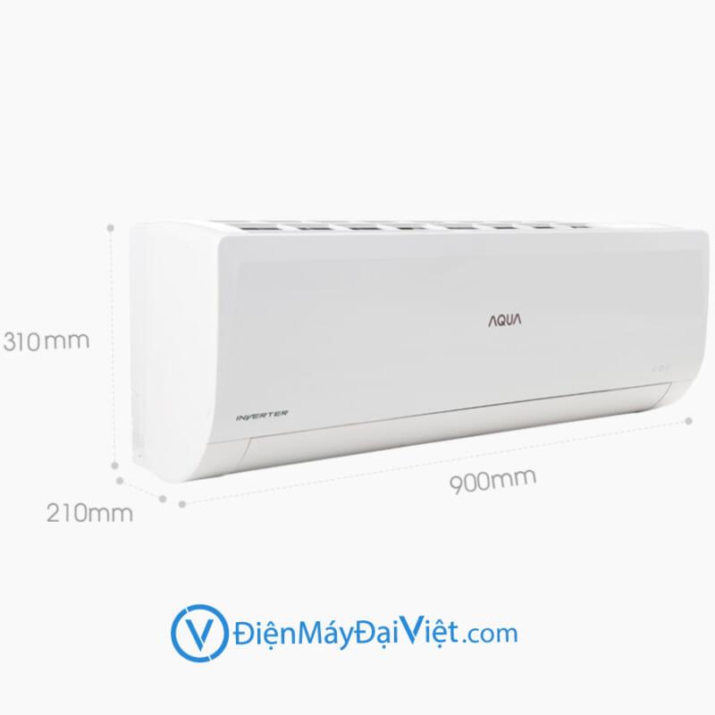 Máy lạnh Aqua Inverter 2 HP AQA KCRV18WNZ Kich thuoc