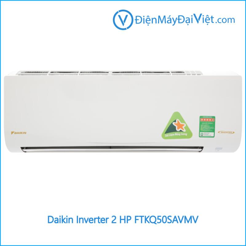 Máy lạnh Daikin Inverter 2 HP FTKQ50SAVMV Điện Máy Đại Việt
