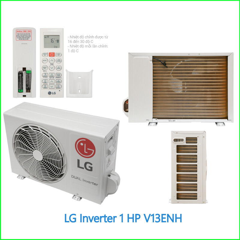 Máy lạnh LG Inverter 1.5 HP V13ENH 2