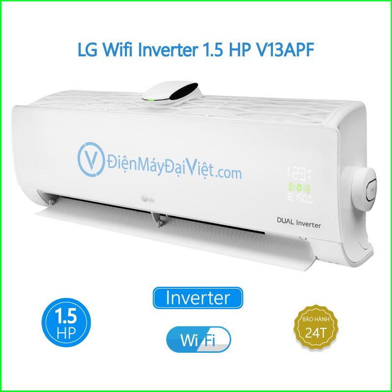 Máy lạnh LG Wifi Inverter 1.5 HP V13APF 2 2
