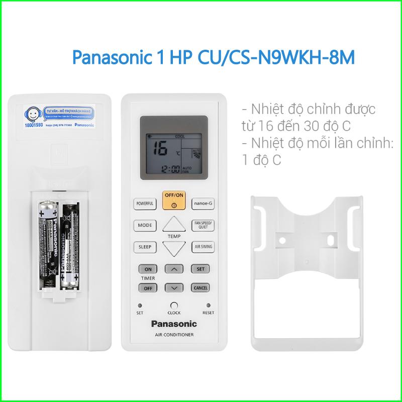 Máy lạnh Panasonic 1 HP CUCS N9WKH 8M 3