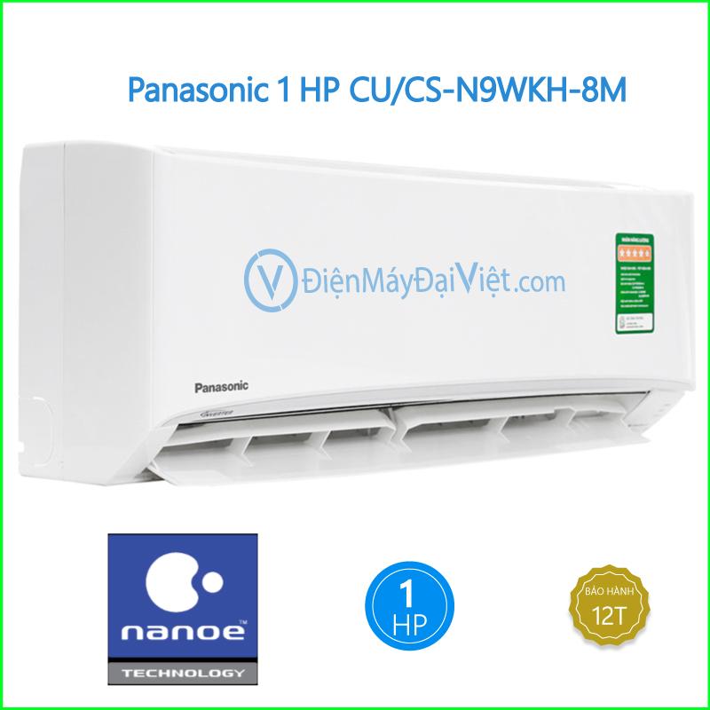 Máy lạnh Panasonic 1 HP CUCS N9WKH 8M