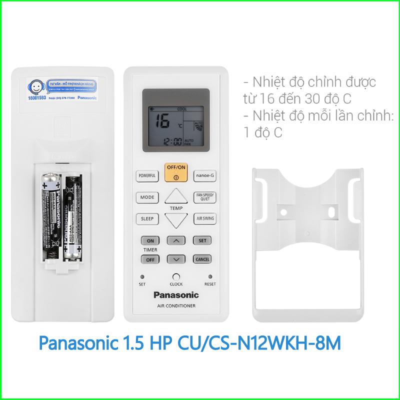 Máy lạnh Panasonic 1.5 HP CU CS N12WKH 8M 3