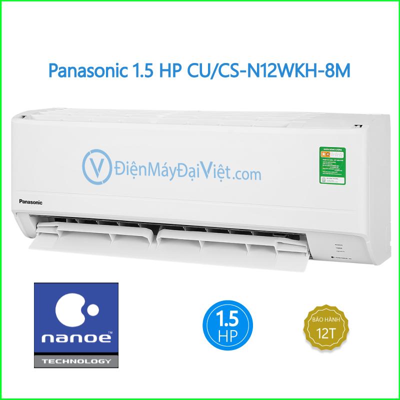 Máy lạnh Panasonic 1.5 HP CU CS N12WKH 8M