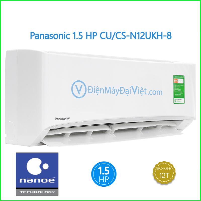 Máy lạnh Panasonic 1.5 HP CUCS N12UKH 8 1