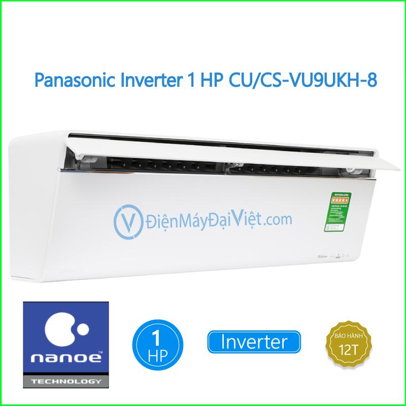Máy lạnh Panasonic Inverter 1 HP CUCS VU9UKH 8