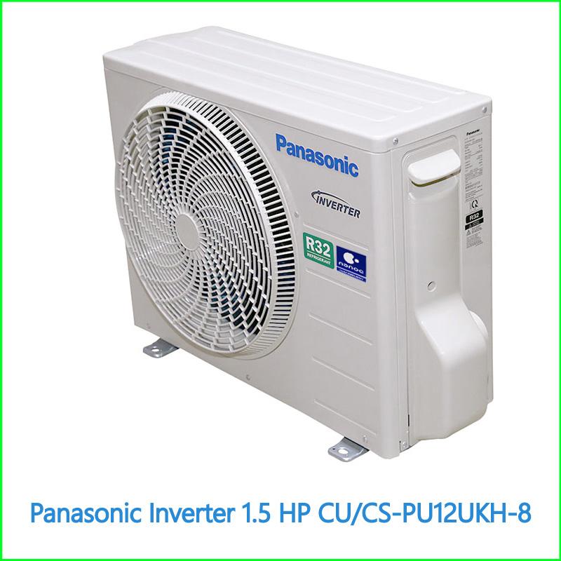 Máy lạnh Panasonic Inverter 1.5 HP CUCS PU12UKH 8 1