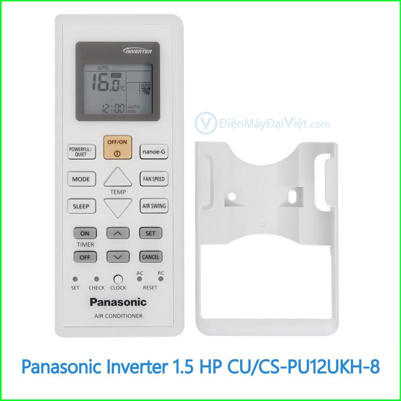 Máy lạnh Panasonic Inverter 1.5 HP CUCS PU12UKH 8 2