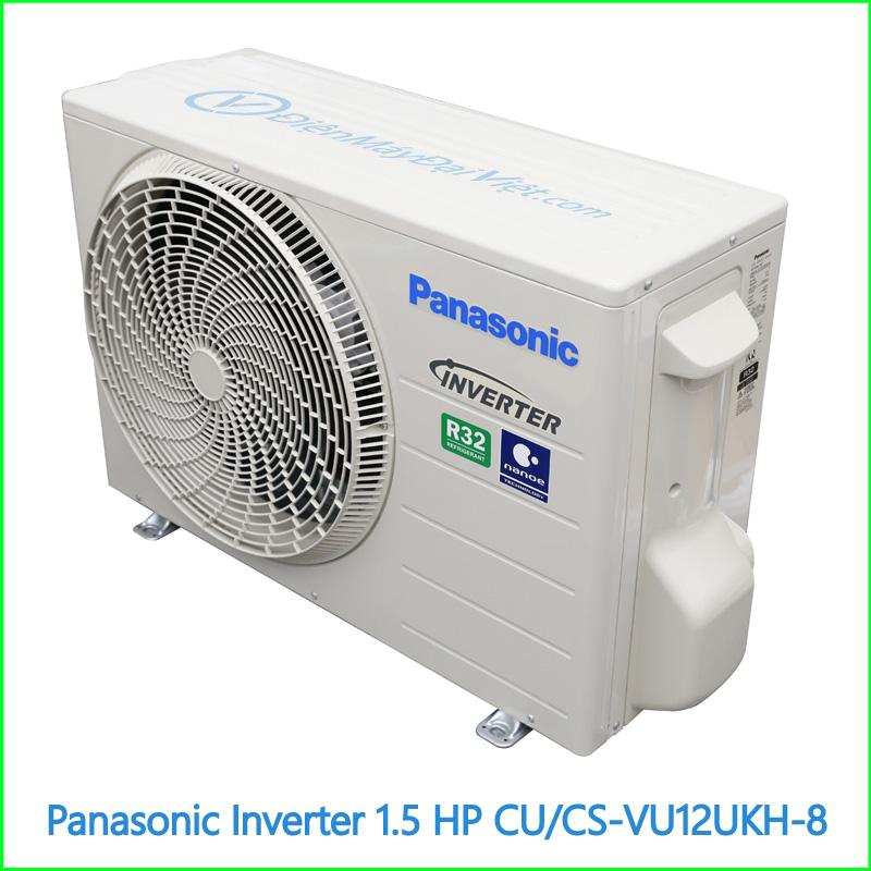 Máy lạnh Panasonic Inverter 1.5 HP CUCS VU12UKH 8 1