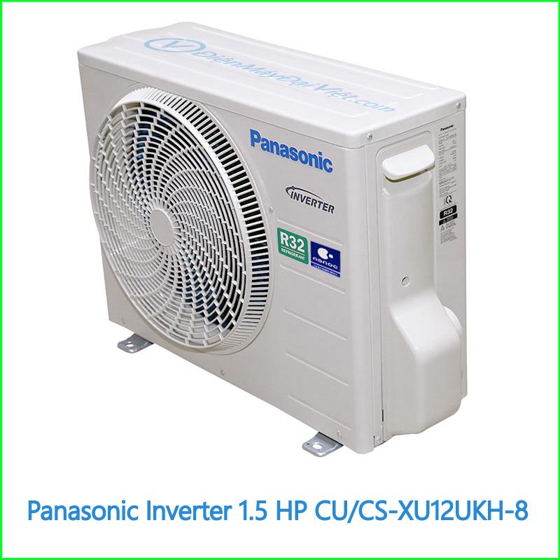Máy lạnh Panasonic Inverter 1.5 HP CUCS XU12UKH 8 2