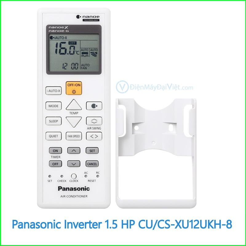 Máy lạnh Panasonic Inverter 1.5 HP CUCS XU12UKH 8 3