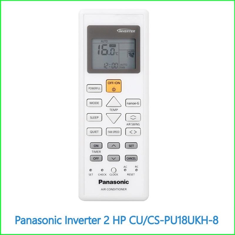 Máy lạnh Panasonic Inverter 2 HP CUCS PU18UKH 8 3