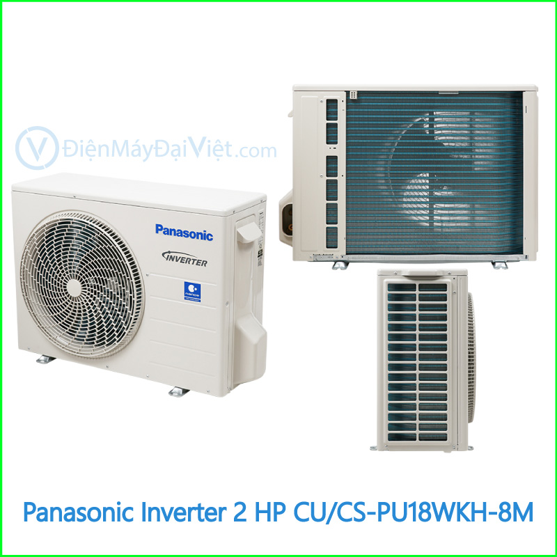 Máy lạnh Panasonic Inverter 2 HP CUCS PU18WKH 8M 2