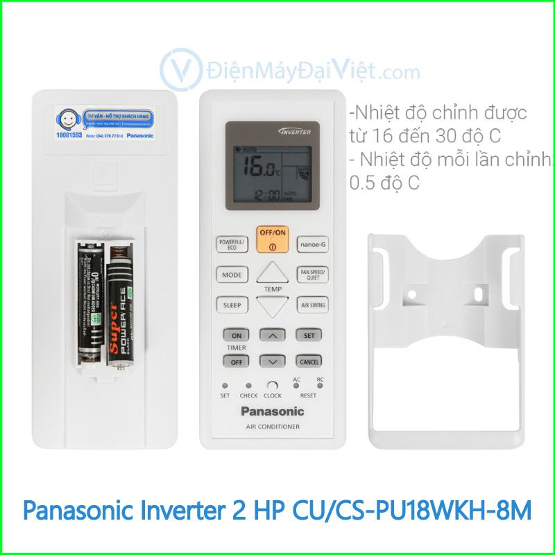 Máy lạnh Panasonic Inverter 2 HP CUCS PU18WKH 8M 3