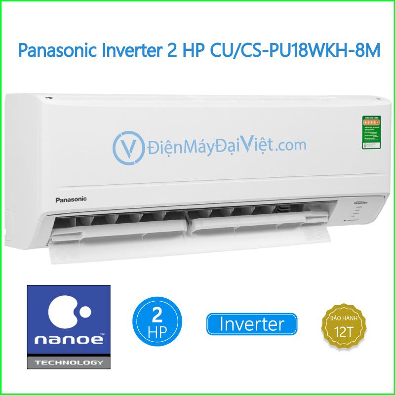 Máy lạnh Panasonic Inverter 2 HP CUCS PU18WKH 8M