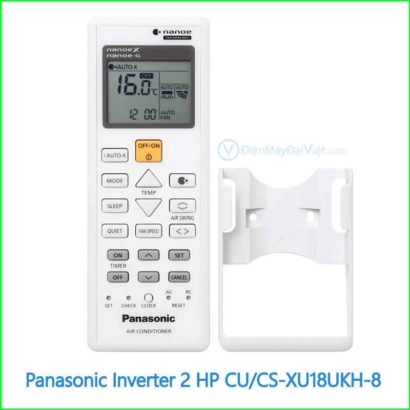 Máy lạnh Panasonic Inverter 2 HP CUCS XU18UKH 8 4