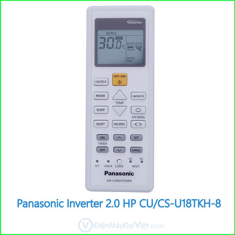 Máy lạnh Panasonic Inverter 2.0 HP CUCS U18TKH 8 3