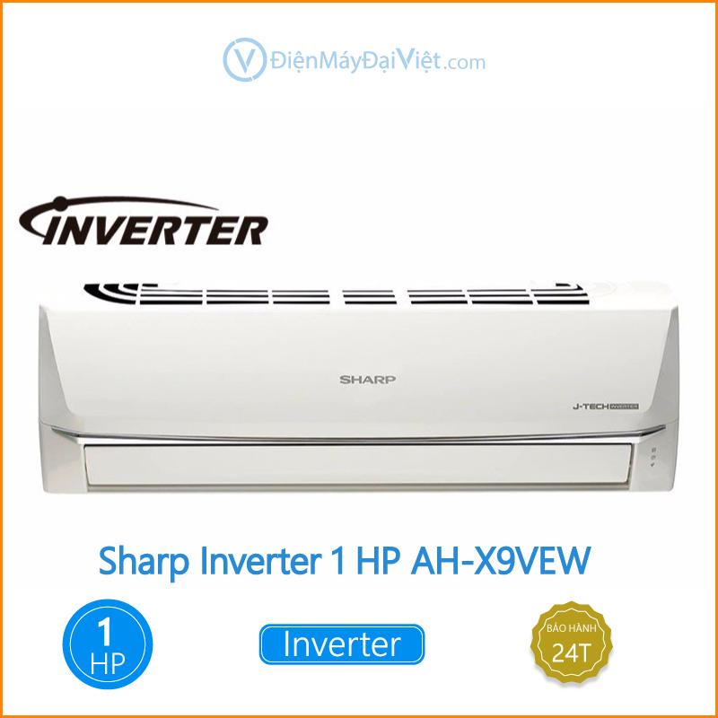 Máy lạnh Sharp Inverter 1 HP AH X9VEW Dien May Dai Viet 1