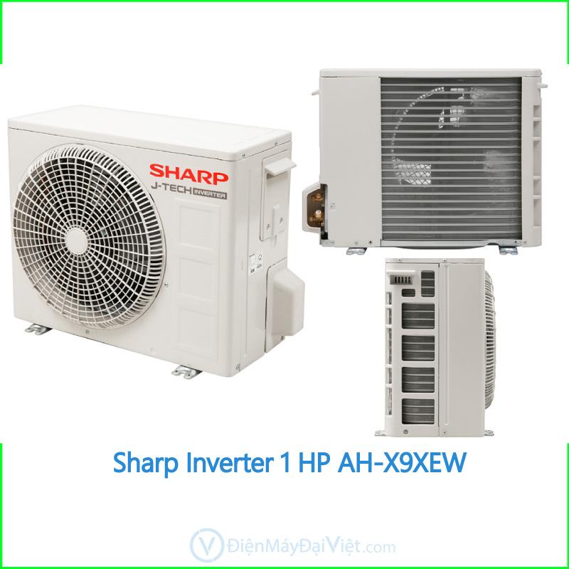 Máy lạnh Sharp Inverter 1 HP AH X9XEW 2