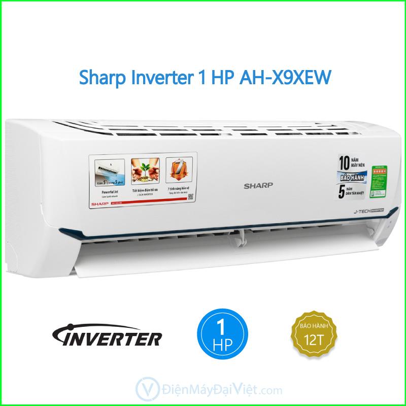 Máy lạnh Sharp Inverter 1 HP AH X9XEW