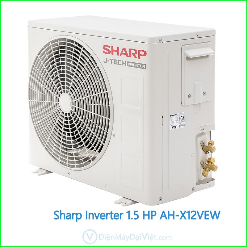 Máy lạnh Sharp Inverter 1.5 HP AH X12VEW 2