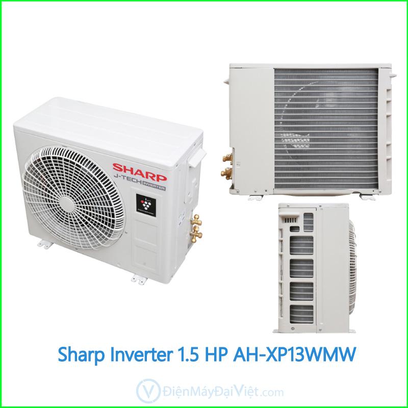 Máy lạnh Sharp Inverter 1.5 HP AH XP13WMW 2