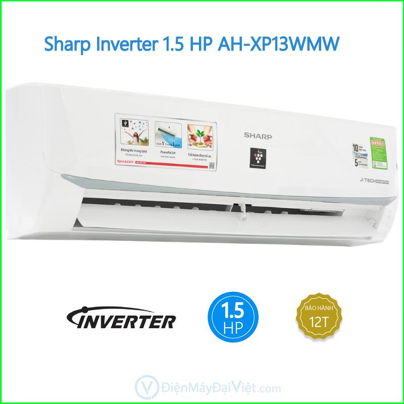 Máy lạnh Sharp Inverter 1.5 HP AH XP13WMW