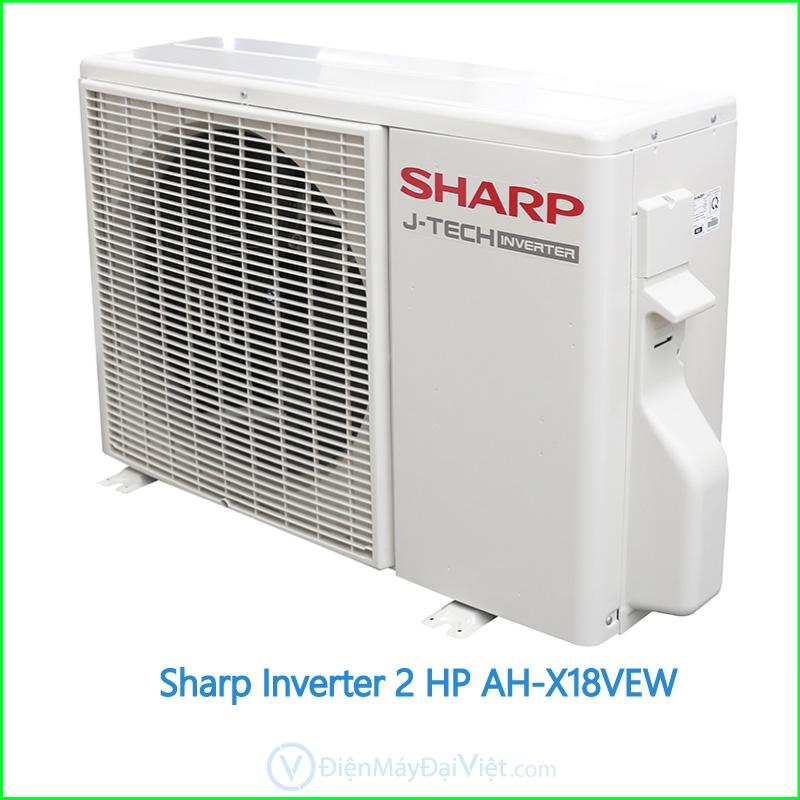 Máy lạnh Sharp Inverter 2 HP AH X18VEW 3