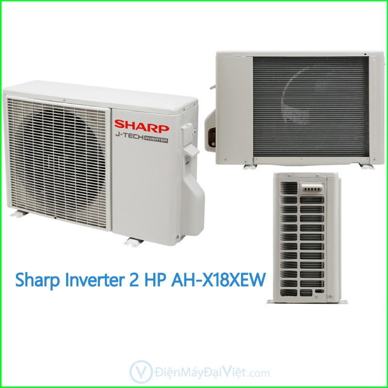Máy lạnh Sharp Inverter 2 HP AH X18XEW 2