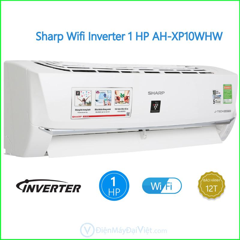 Máy lạnh Sharp Wifi Inverter 1 HP AH XP10WHW