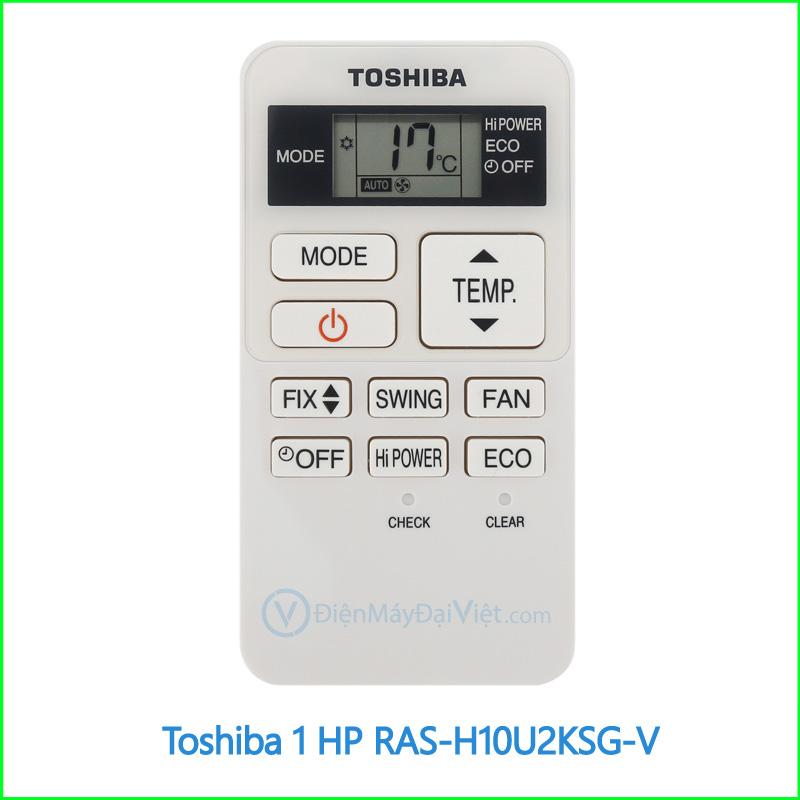 Máy lạnh Toshiba 1 HP RAS H10U2KSG V 3