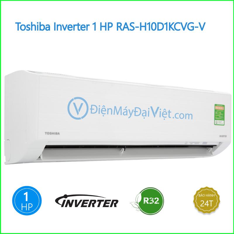 Máy lạnh Toshiba Inverter 1 HP RAS H10D1KCVG V
