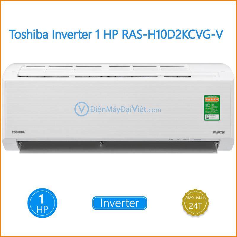 Máy lạnh Toshiba Inverter 1 HP RAS H10D2KCVG V Dien May Dai Viet