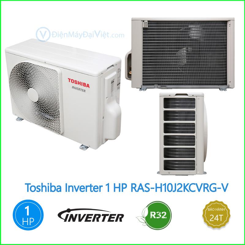 Máy lạnh Toshiba Inverter 1 HP RAS H10J2KCVRG V 2