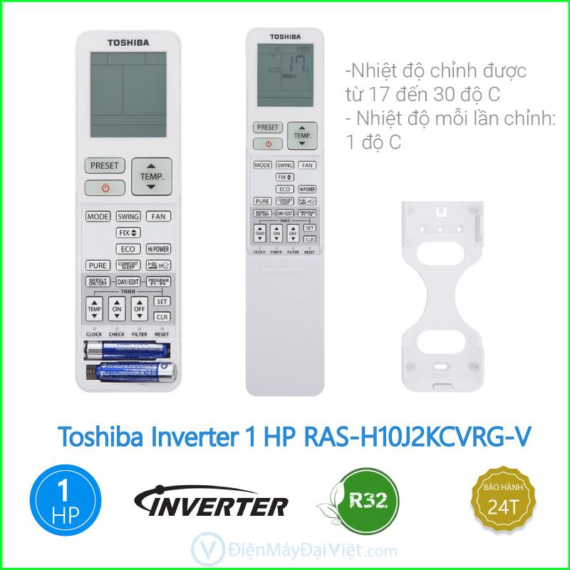Máy lạnh Toshiba Inverter 1 HP RAS H10J2KCVRG V 3