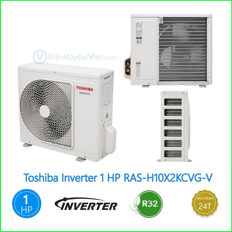 Máy lạnh Toshiba Inverter 1 HP RAS H10X2KCVG V 1