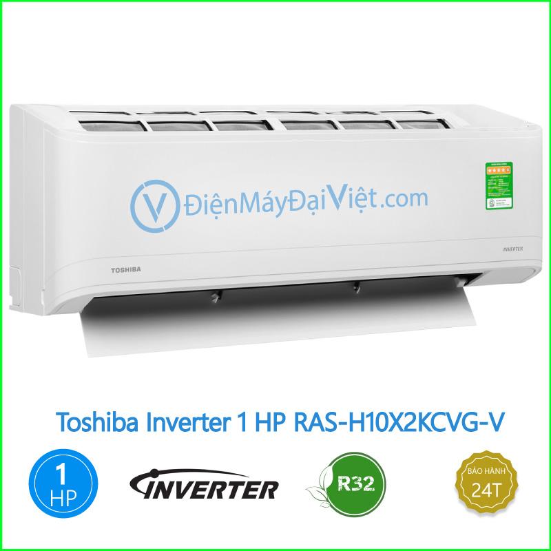 Máy lạnh Toshiba Inverter 1 HP RAS H10X2KCVG V