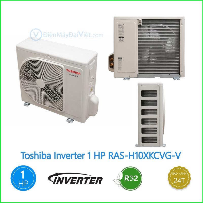 Máy lạnh Toshiba Inverter 1 HP RAS H10XKCVG V 1