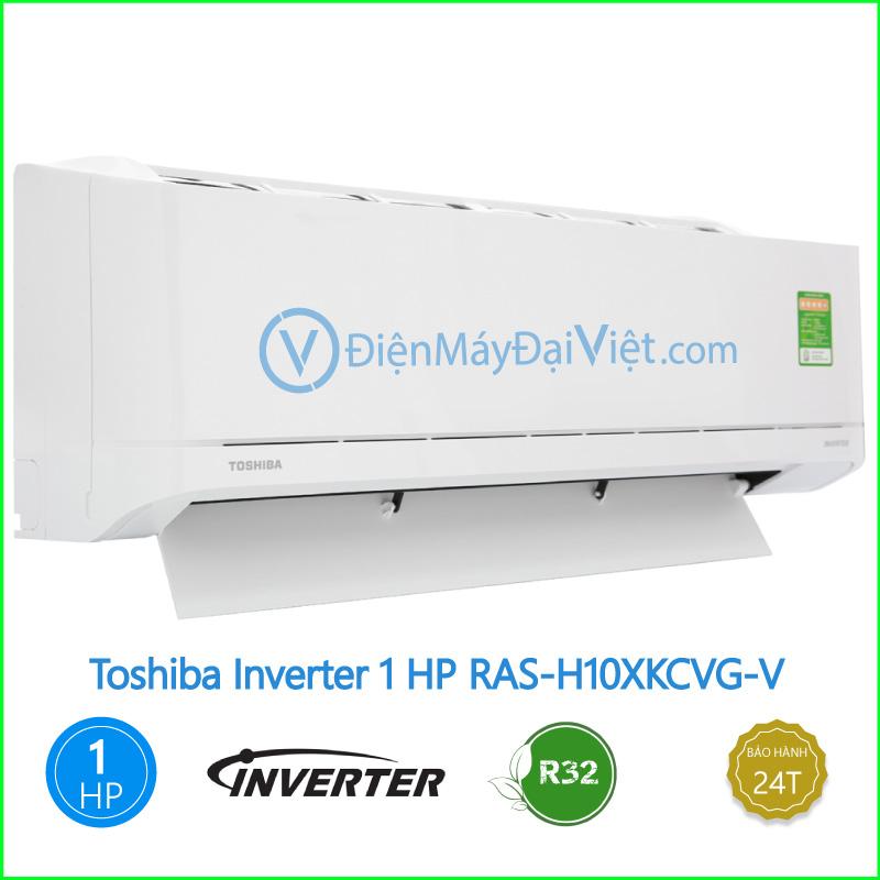 Máy lạnh Toshiba Inverter 1 HP RAS H10XKCVG V