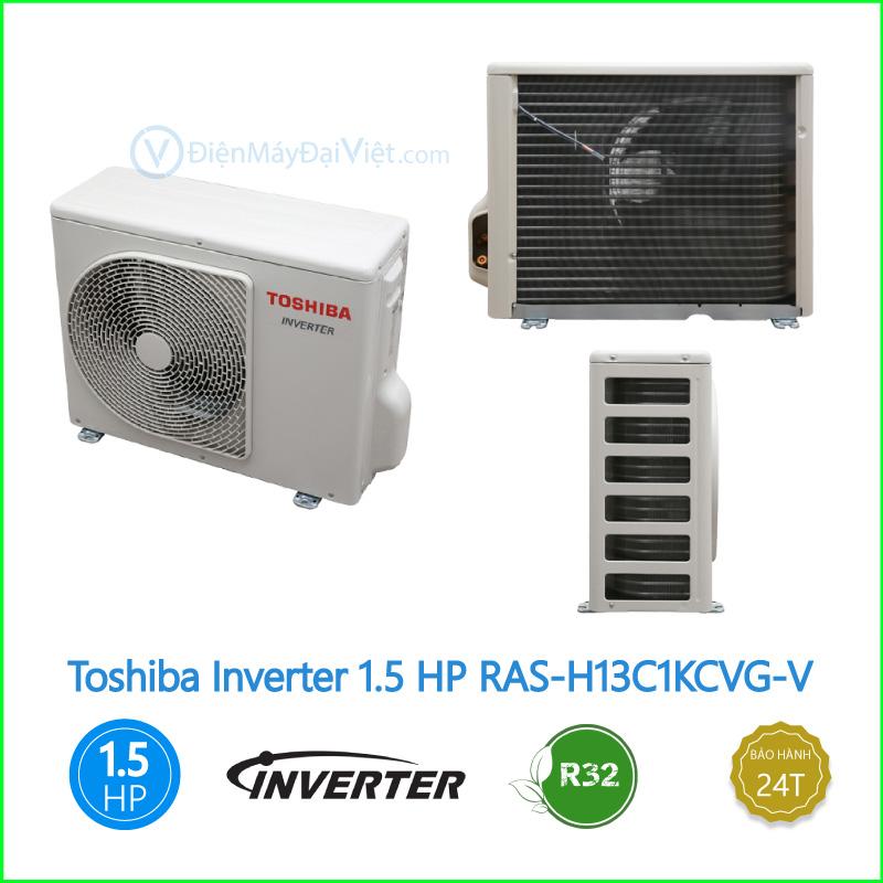 Máy lạnh Toshiba Inverter 1.5 HP RAS H13C1KCVG V 1